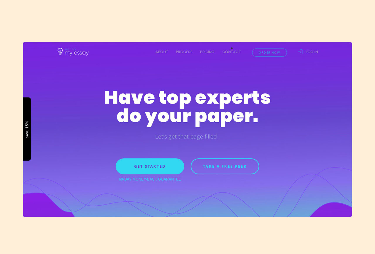 JustDoMyEssay term paper writing service